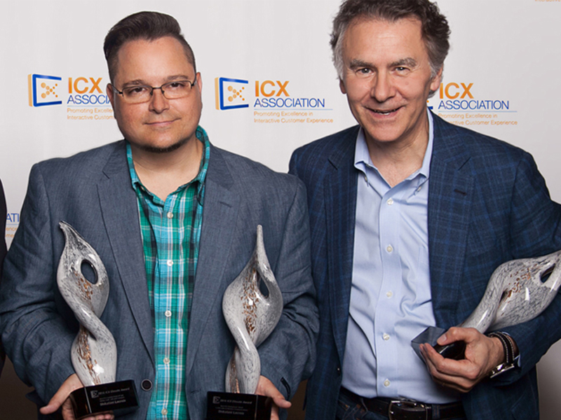 SLD Wins Two ICX Elevate Awards
